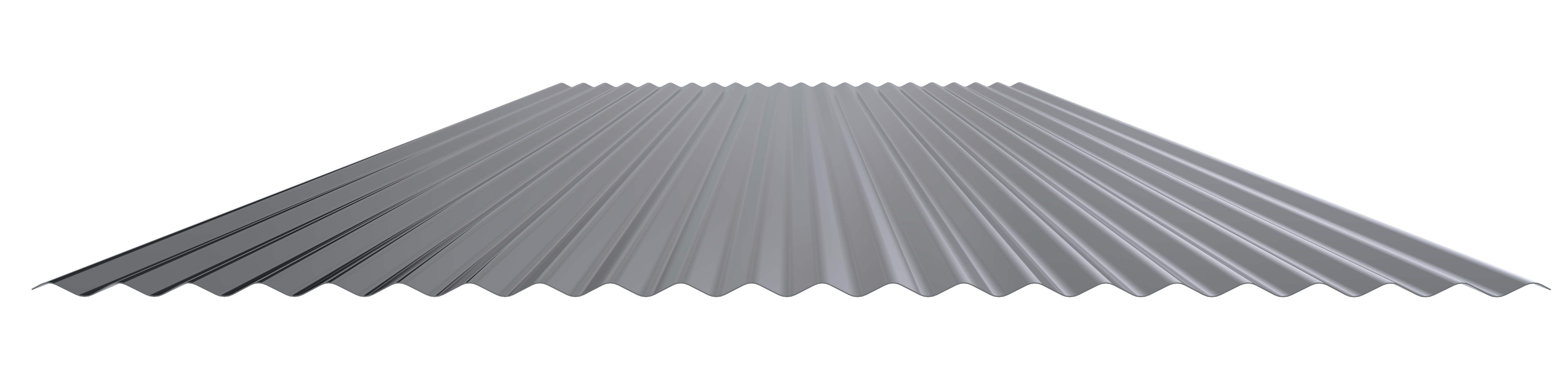 1 4 Quot Corrugated Metal Panel For Interior Wall Or