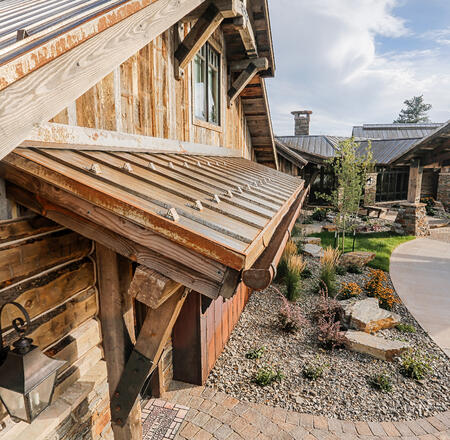 Rustic Standing Seam Metal Roof