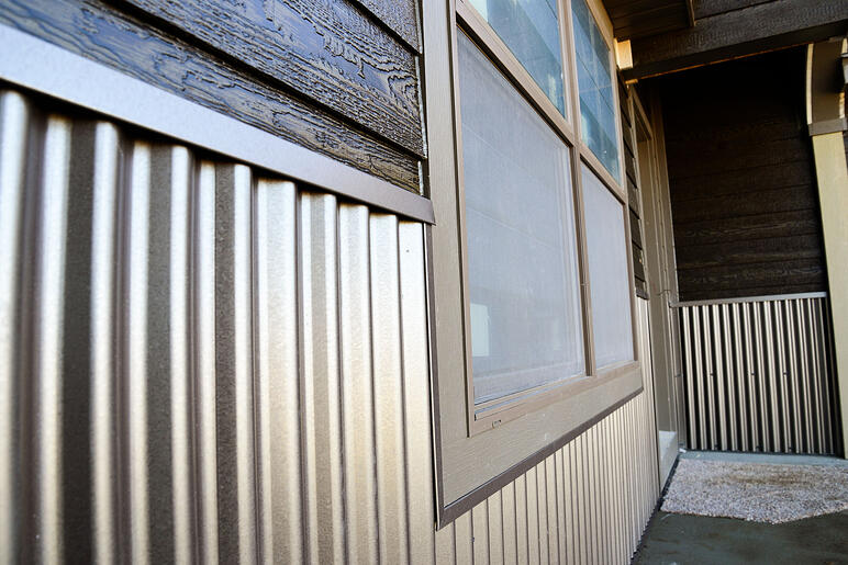 5 Ways To Update Your Home With Corrugated Metal