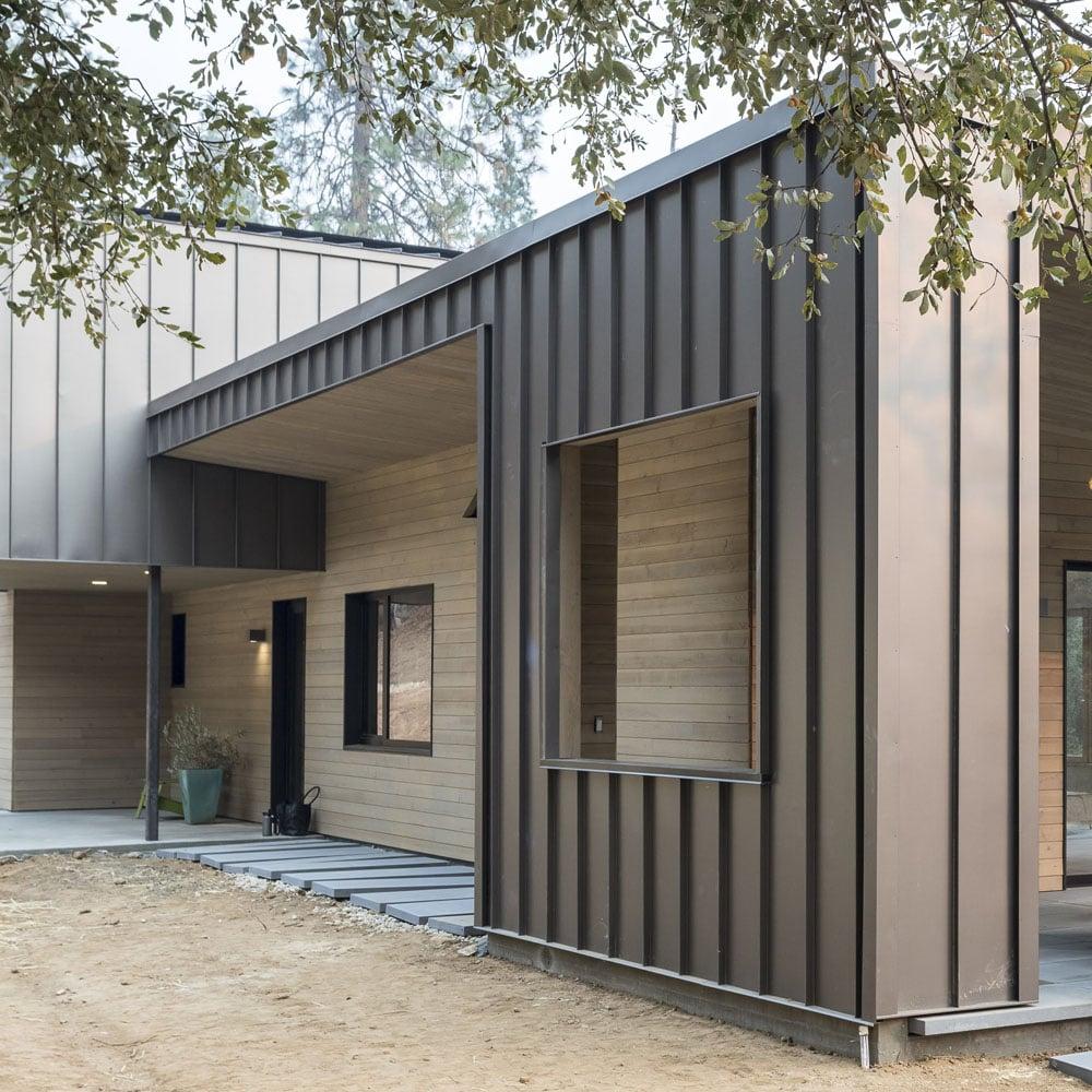 Standing Seam Panels Modern Siding