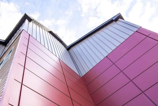 Residence Inn metal panels commercial building