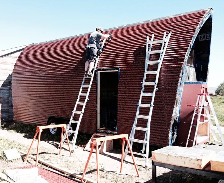 Corrugated_metal_Brimstone_Siding_applied_to_tiny_home