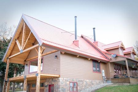 Tuf Rib Red Metal Roof