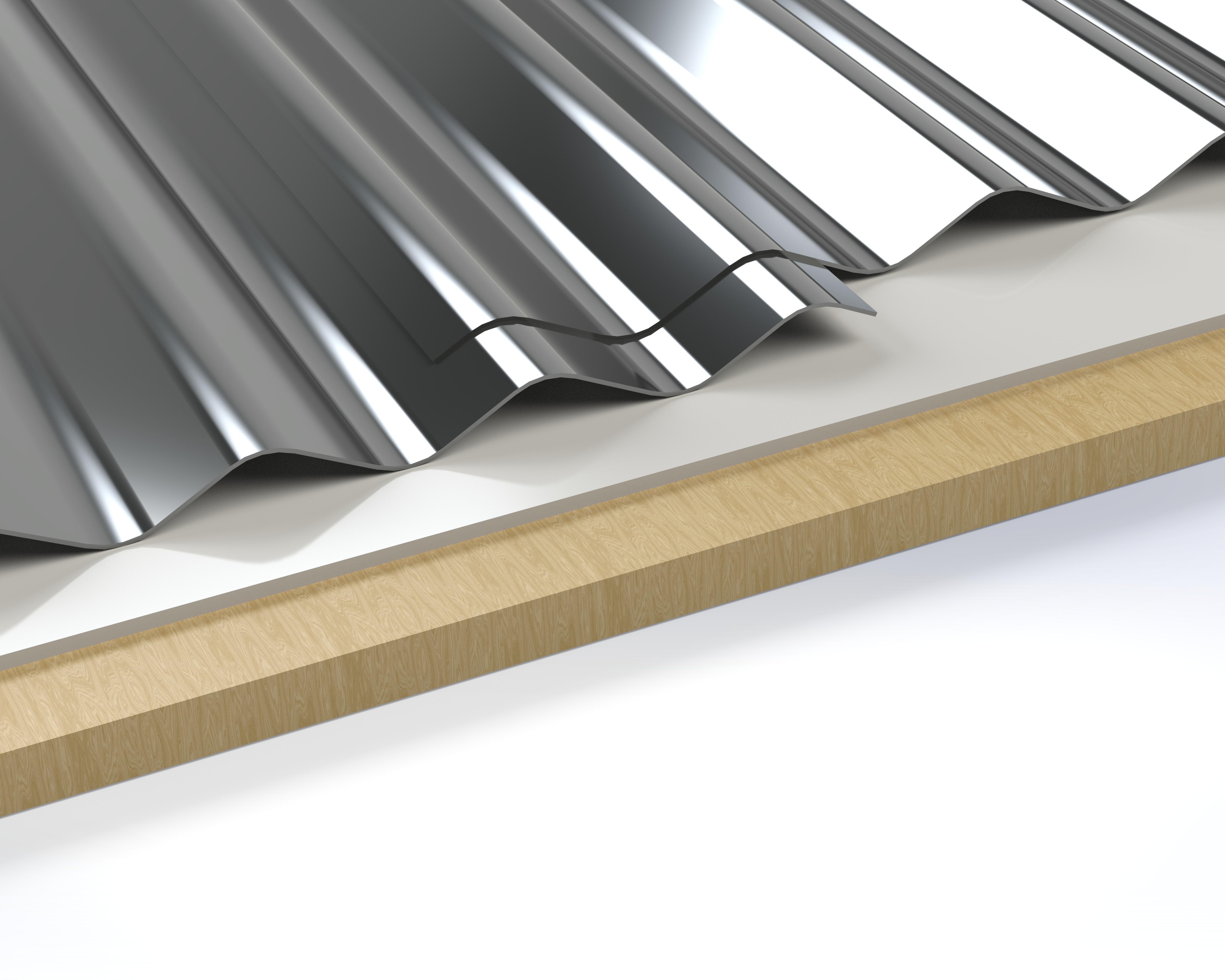 Quarter Inches Corrugated Install