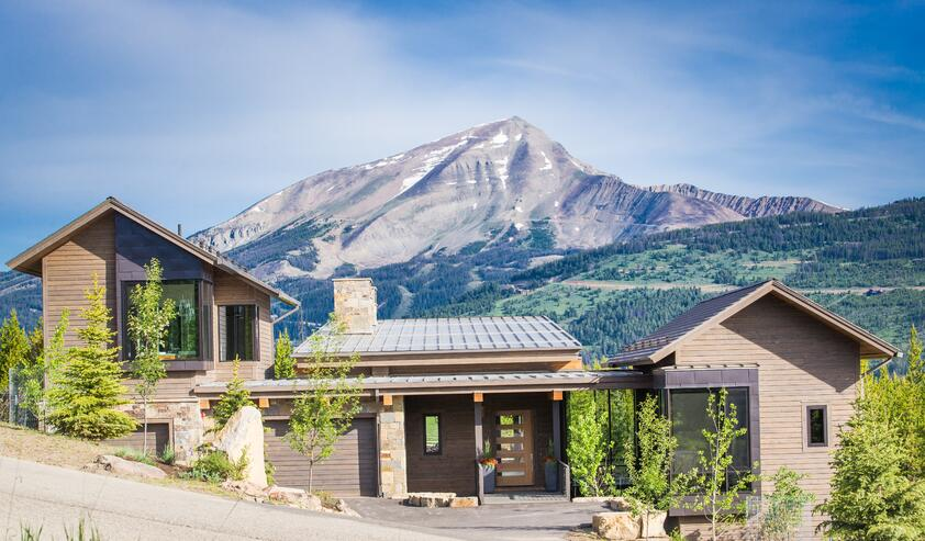 Nail Strip Roofing on Mountain Home