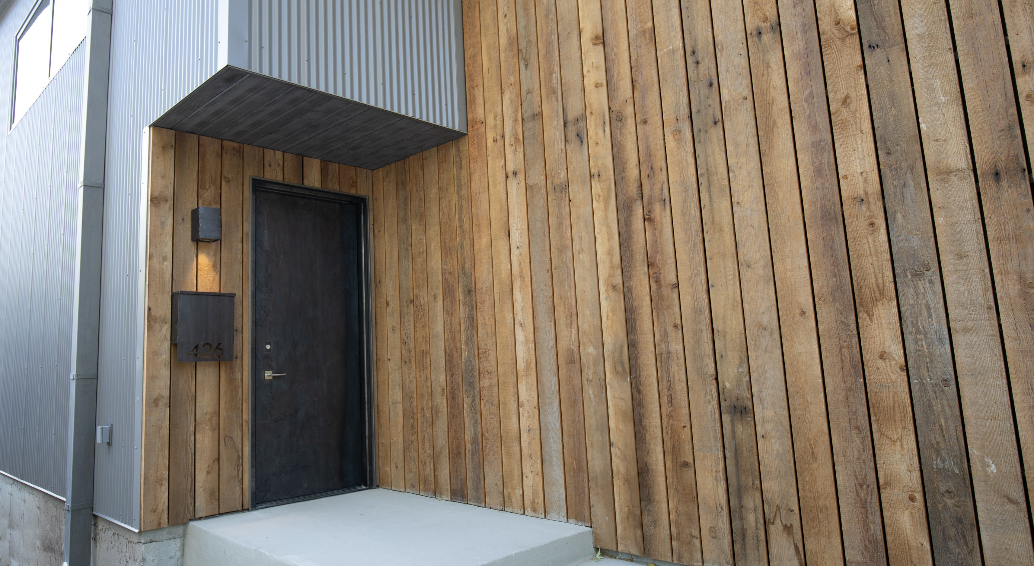 corrugated bonderized steel siding