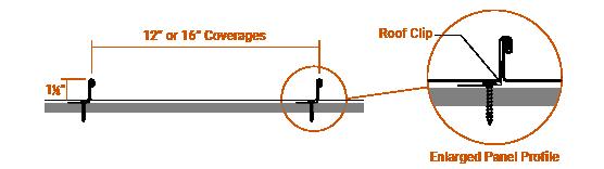 "1.5"" Mechanical Lock Panel Profile"