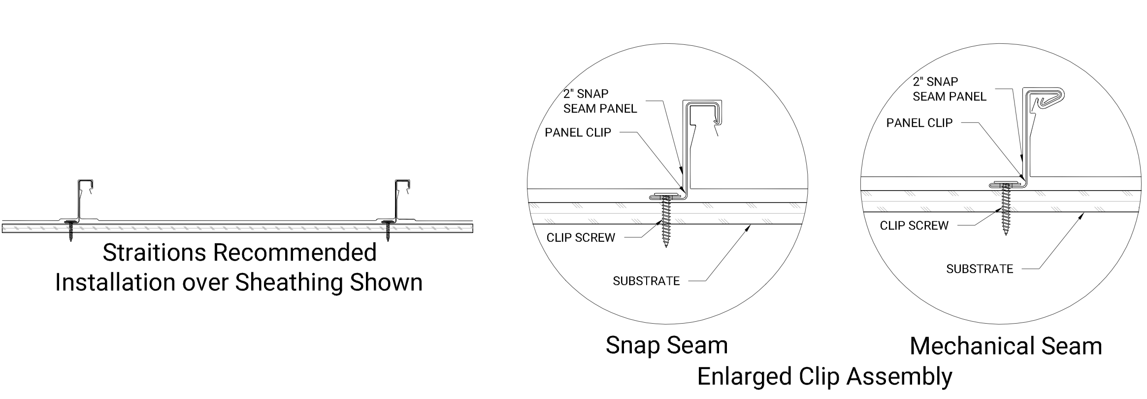 2in Snap Seam - Sheathing copy