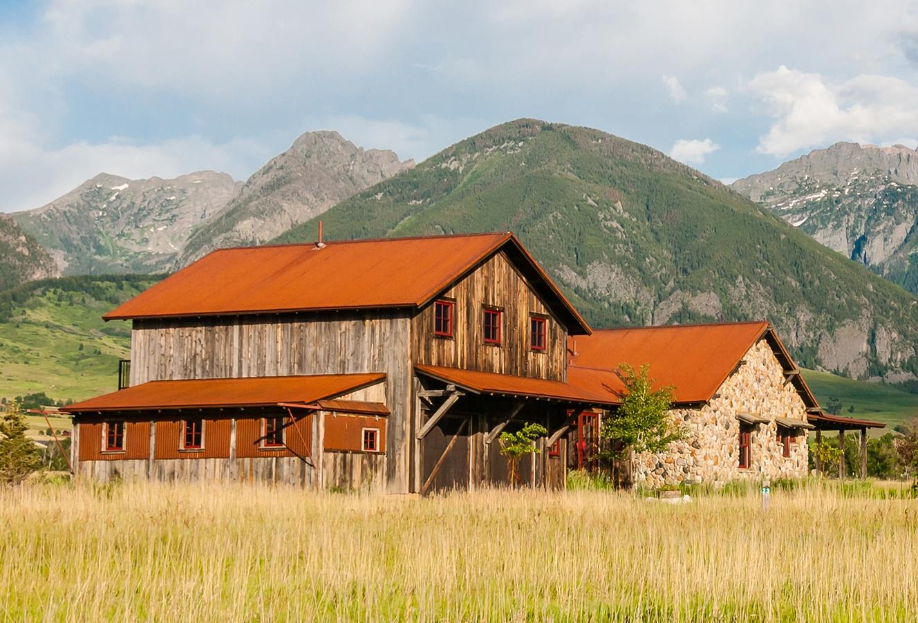 corrugated corten roofing