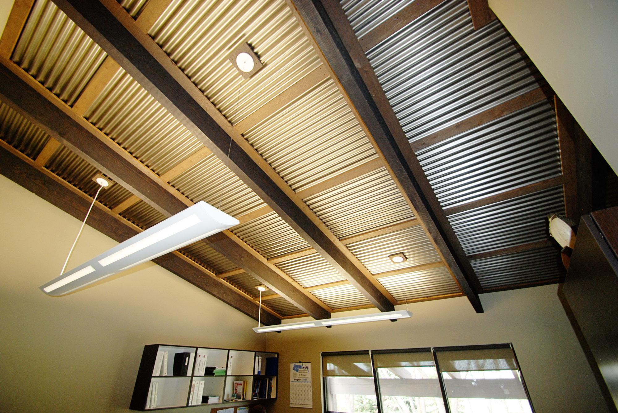 Metal Decking Interior