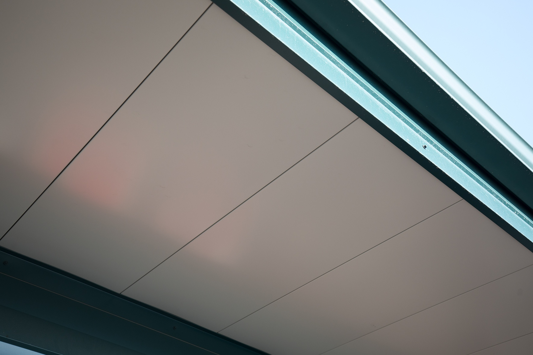 flush soffit flat metal soffit panel for residential commercial use