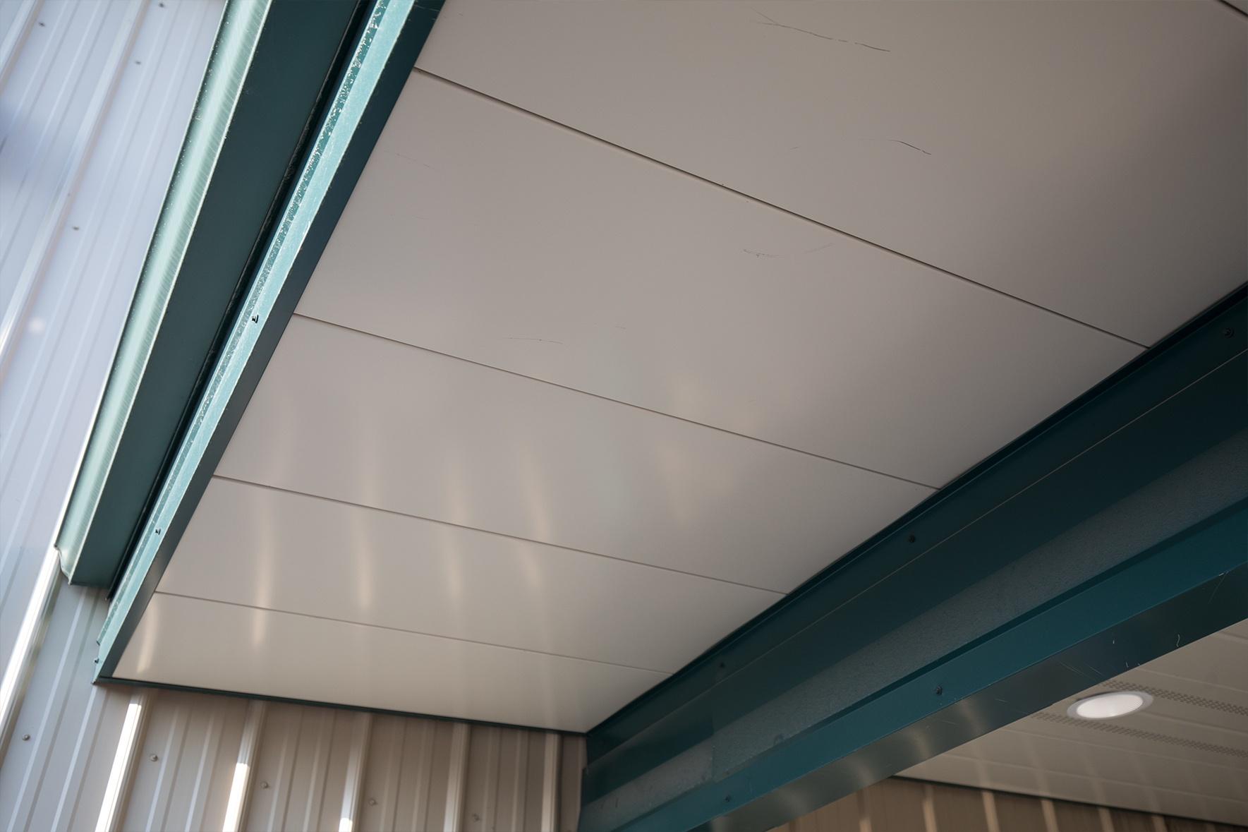 Flush Soffit Panel
