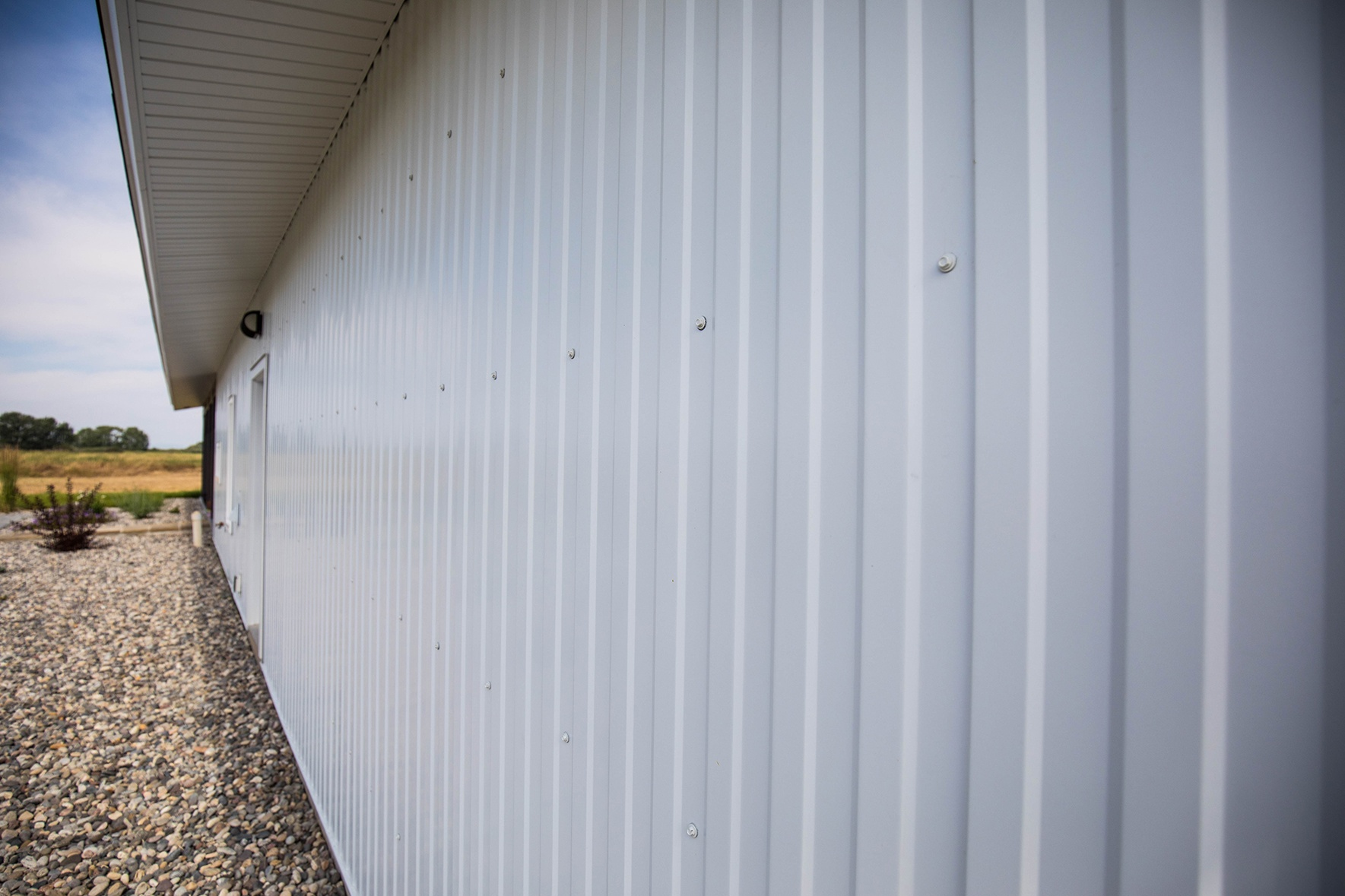 Tin Siding and Interiors - 3\' Platte River Metal Panel by Bridger Steel