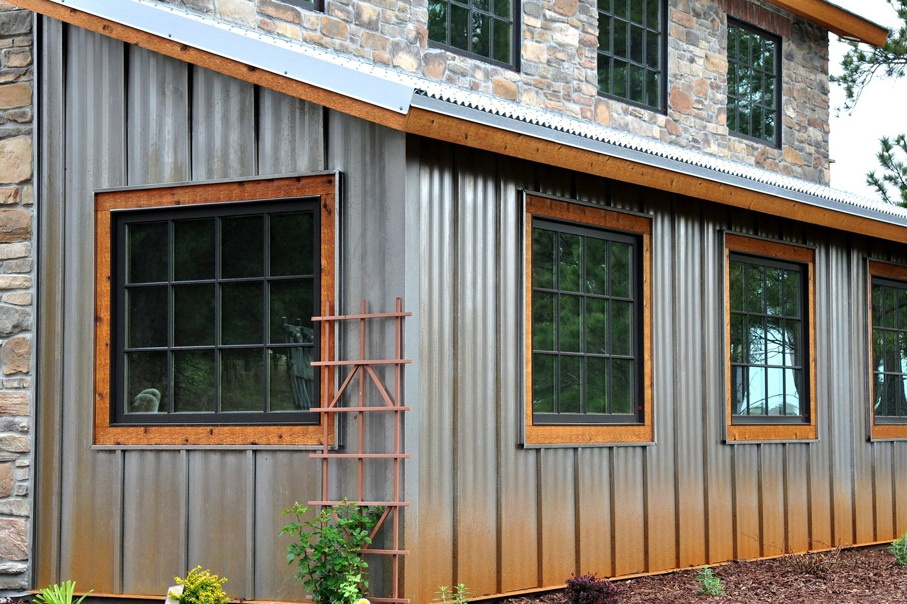 Metal Wall Panel For Modern Or Rustic Siding Ultra Batten Wall