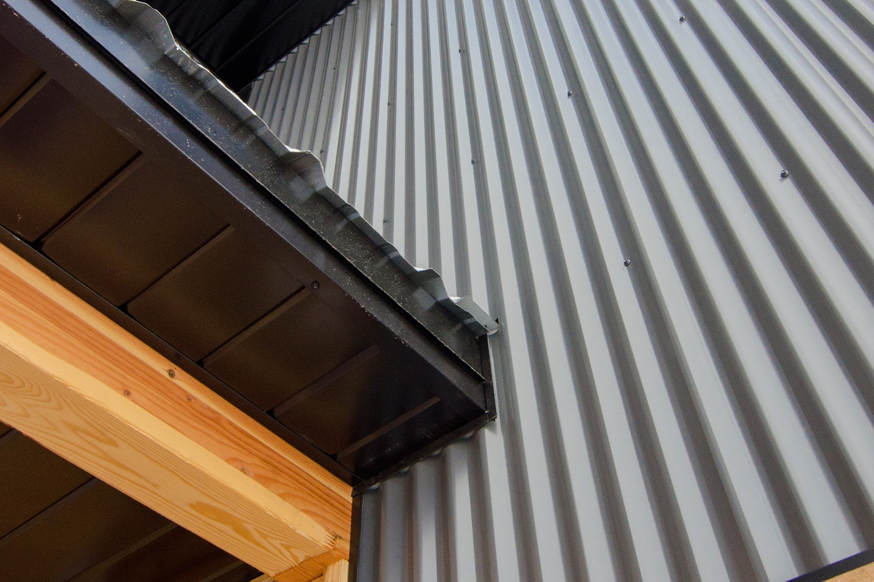 V Soffit Panel System - Steel Soffit for Residential and Commercial Uses