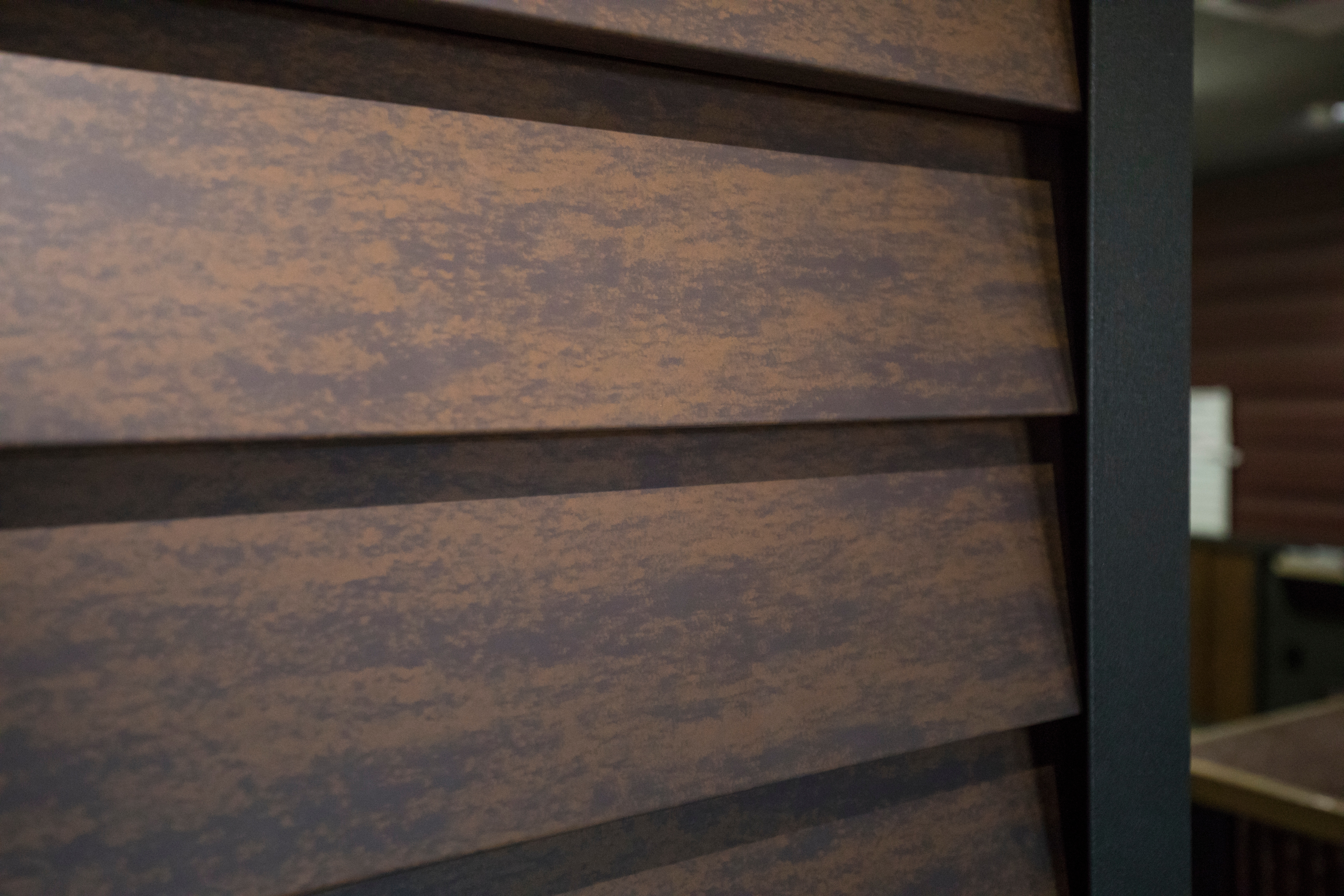 Corten AZP Raw Lap Siding